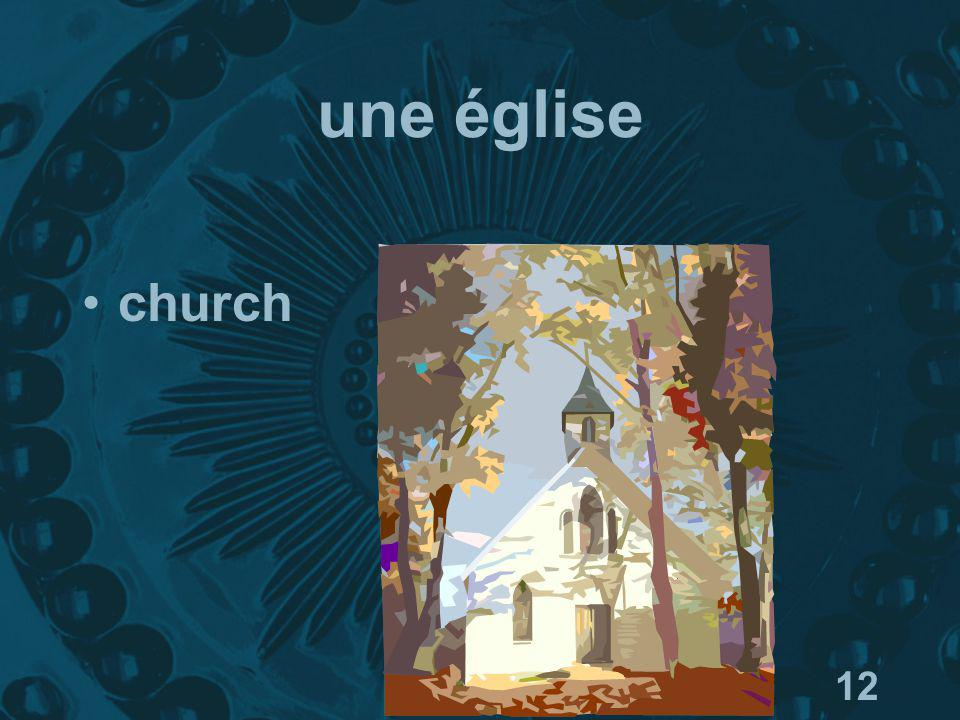 12 une église church
