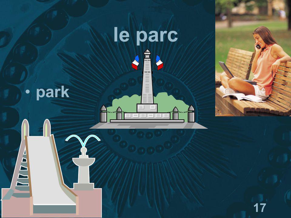 17 le parc park