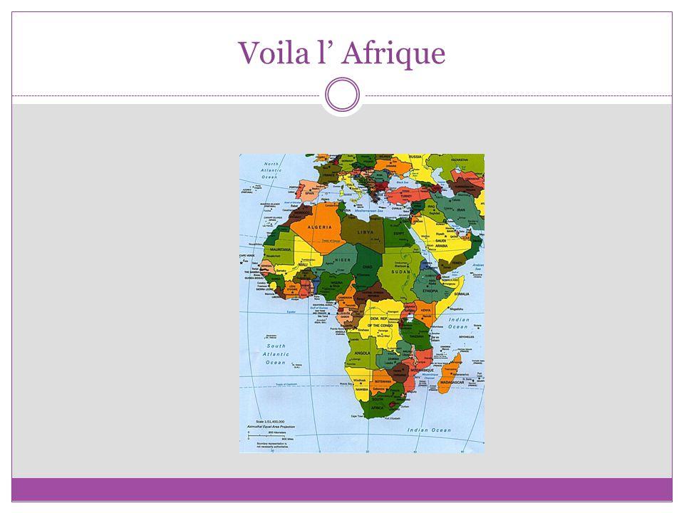 Voila l Afrique