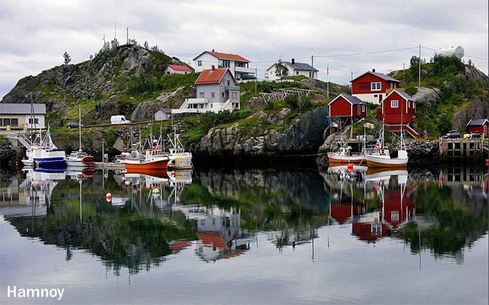 Arrivée àTrollfjord