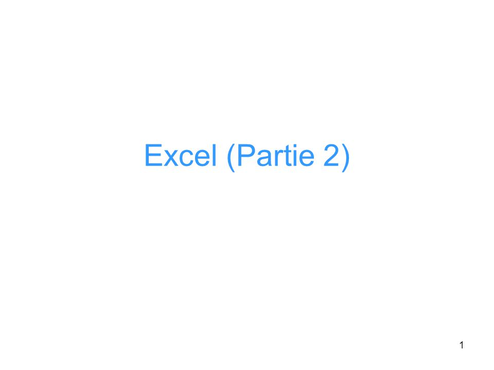 32 Tableaux Croisés Dynamiques (TCD) Excel offre la possibilité de construire des tableaux de « synthèse » sur des listes de données Exemple, considérons la liste qui contient des informations sur les employés dune entreprise