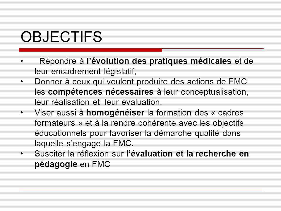 Et la recherche .Quels sont les freins à la participation à la FMC .