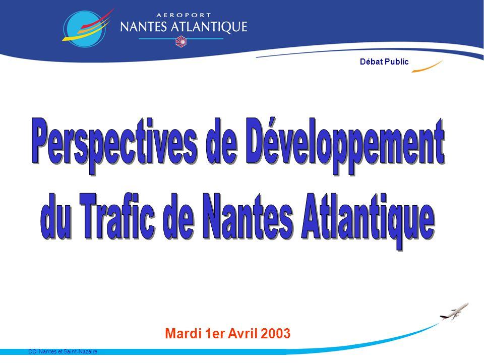 CCI Nantes et Saint-Nazaire Mardi 1er Avril 2003 Débat Public