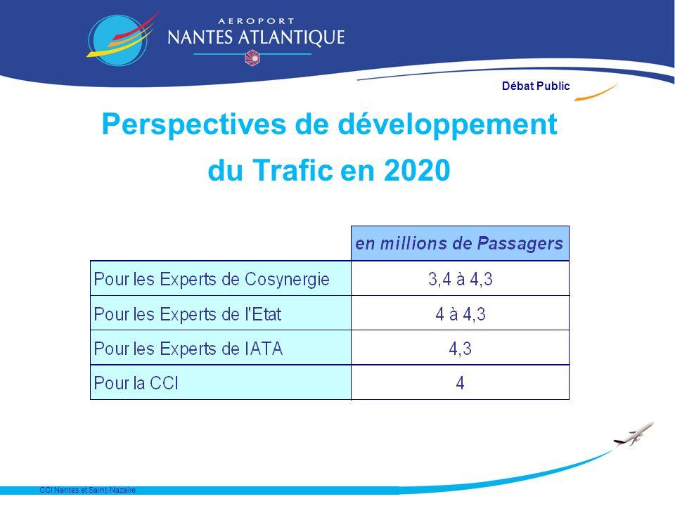 Perspectives de développement du Trafic en 2020 CCI Nantes et Saint-Nazaire Débat Public