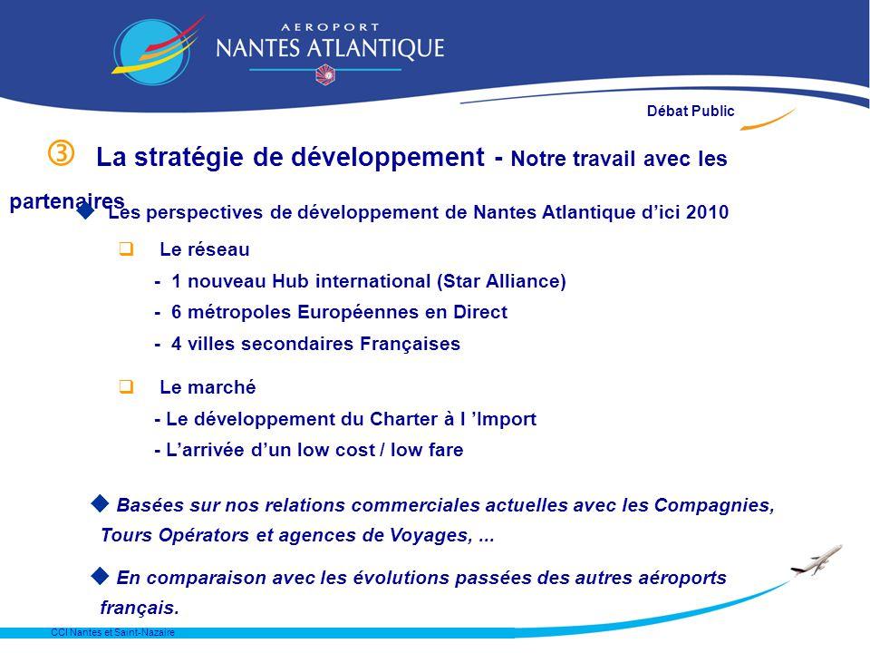 CCI Nantes et Saint-Nazaire Une lecture plus optimiste de la Contre Expertise qSur la période 1991 - 2002 q Pour estomper leffet TGV qSans transiger e
