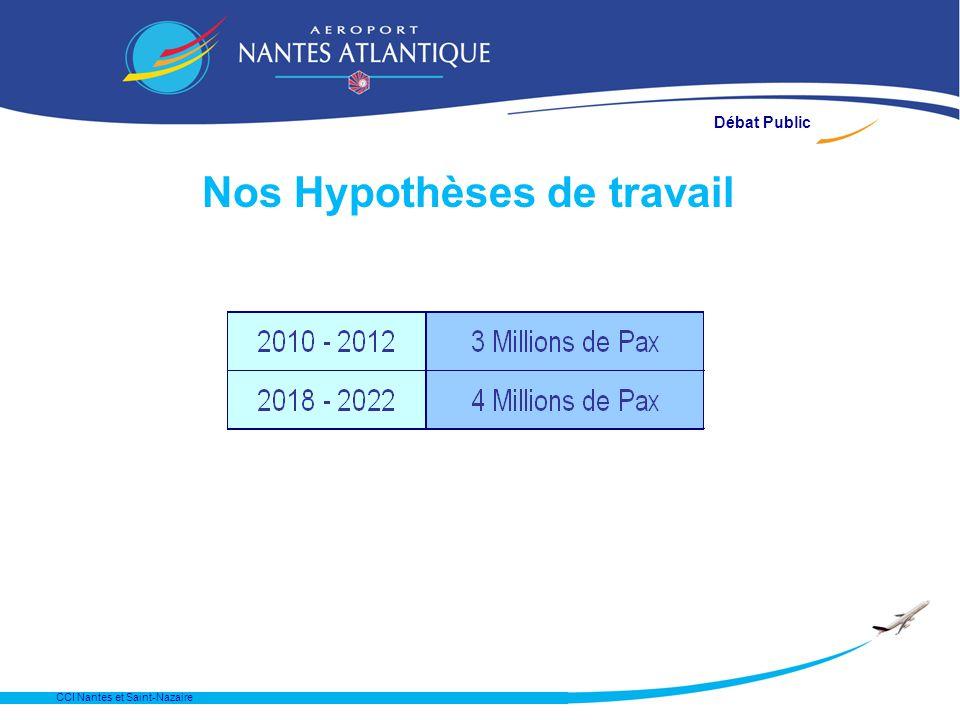CCI Nantes et Saint-Nazaire Nos Hypothèses de travail Débat Public