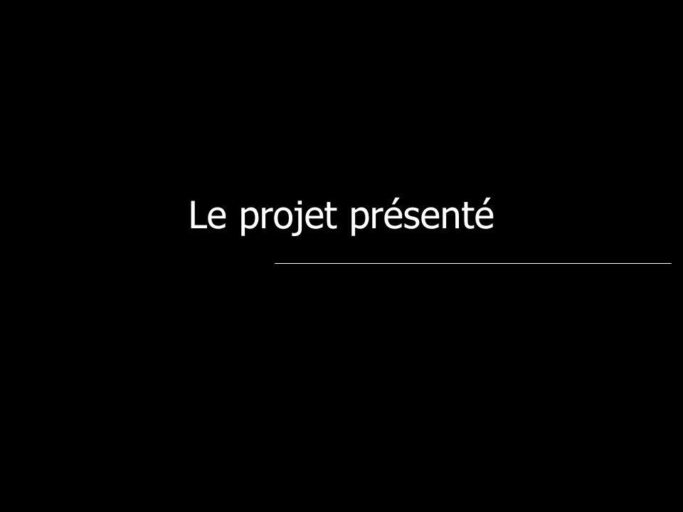 Le projet présenté