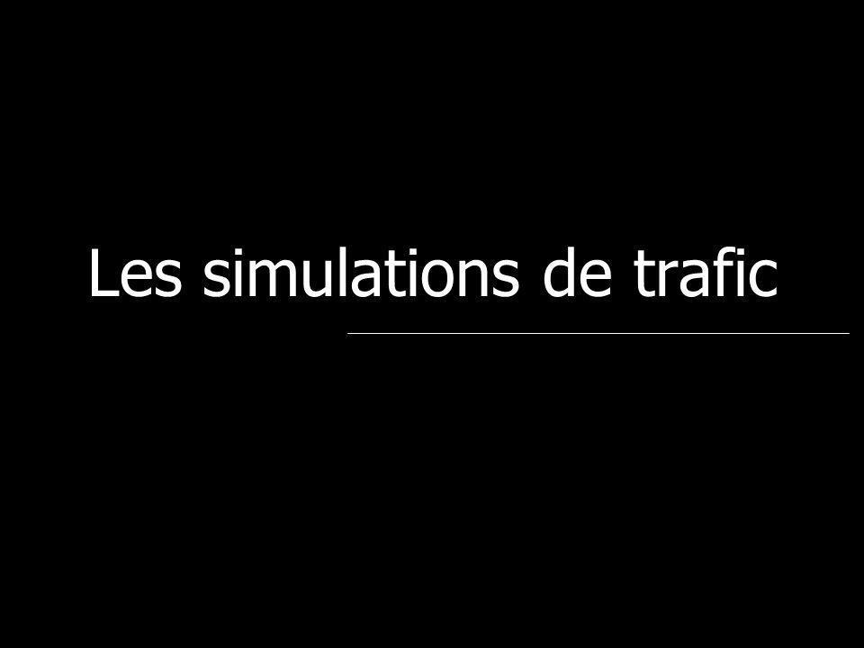 Les simulations de trafic