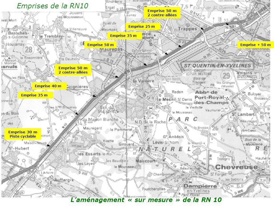 Laménagement sur mesure de la RN 10 Réunion publique CPDP – vendredi 16 juin - Ferme du Manet La solution la plus pertinente