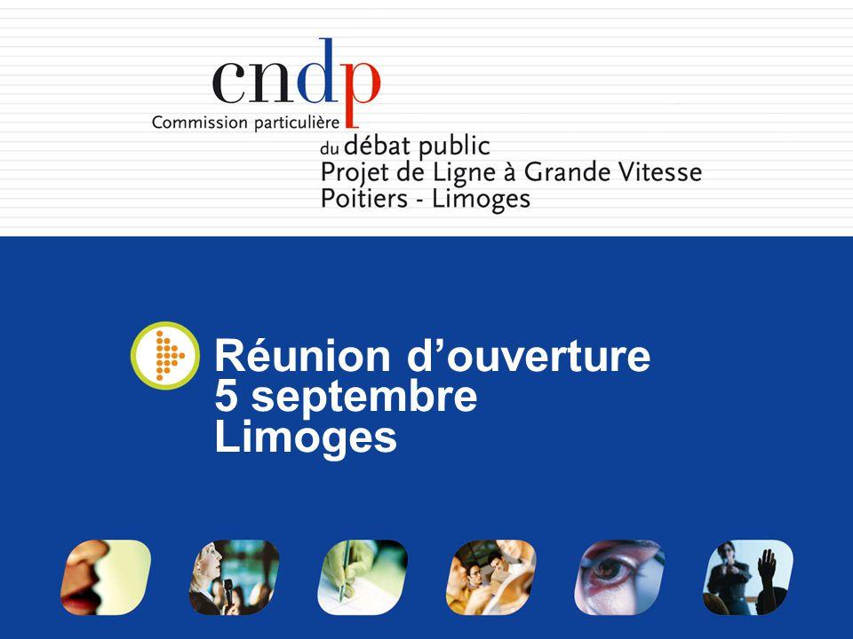 Le déroulement de la réunion 1.Présentation du débat public4.
