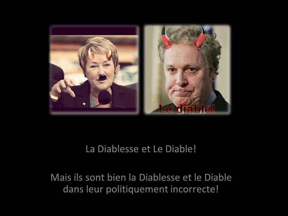 La reine et le Roi du Québec! Ils sont bien les patapoufs premières du Québec aux choix du peuple!