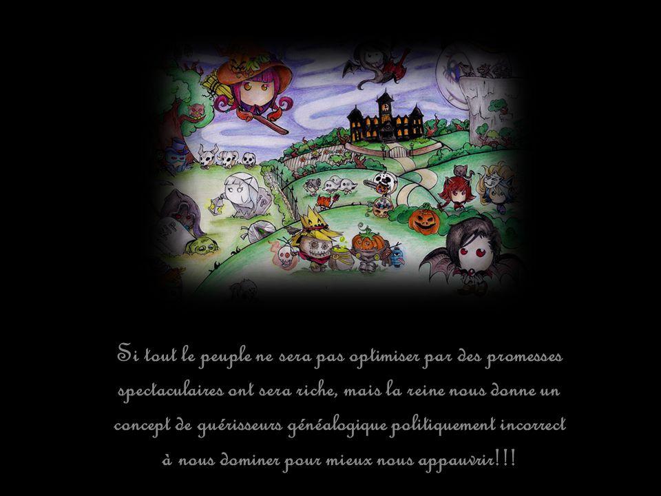 Mais le château de la Reine, renne avec la peur et non avec confiance!!!