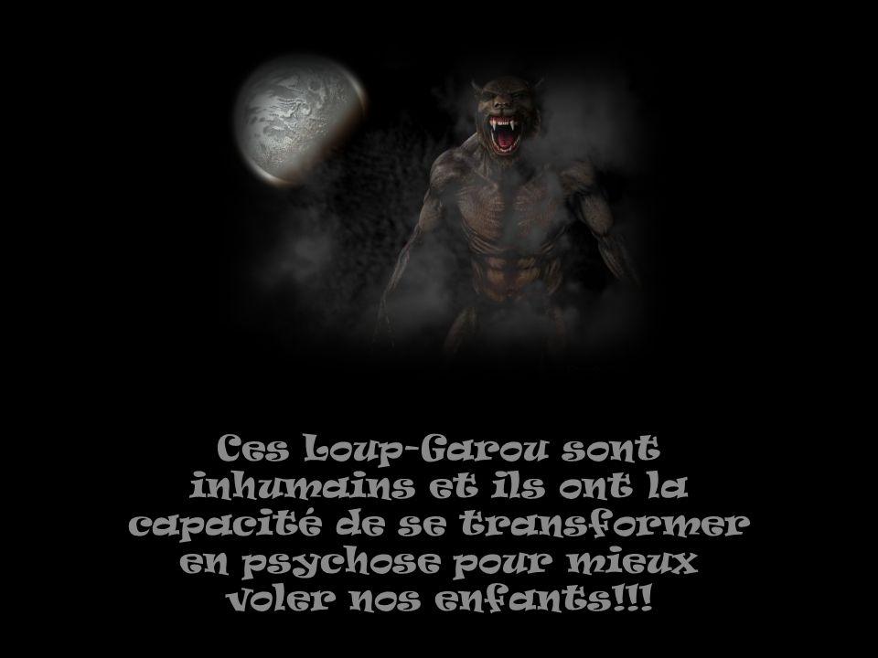 Mais nous les Avatars du peuple on va transformer nos exploits de dénoncer la réalité de ces mythes camouflés par nos gouvernements qui se transforment en Loup-Garou sur nous!!!