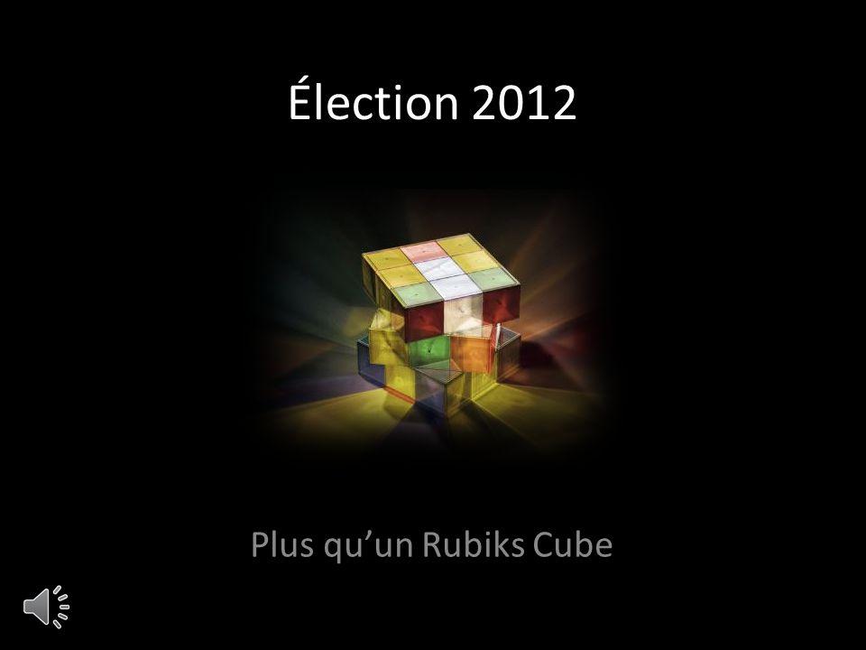 Élection 2012 Plus quun Rubiks Cube