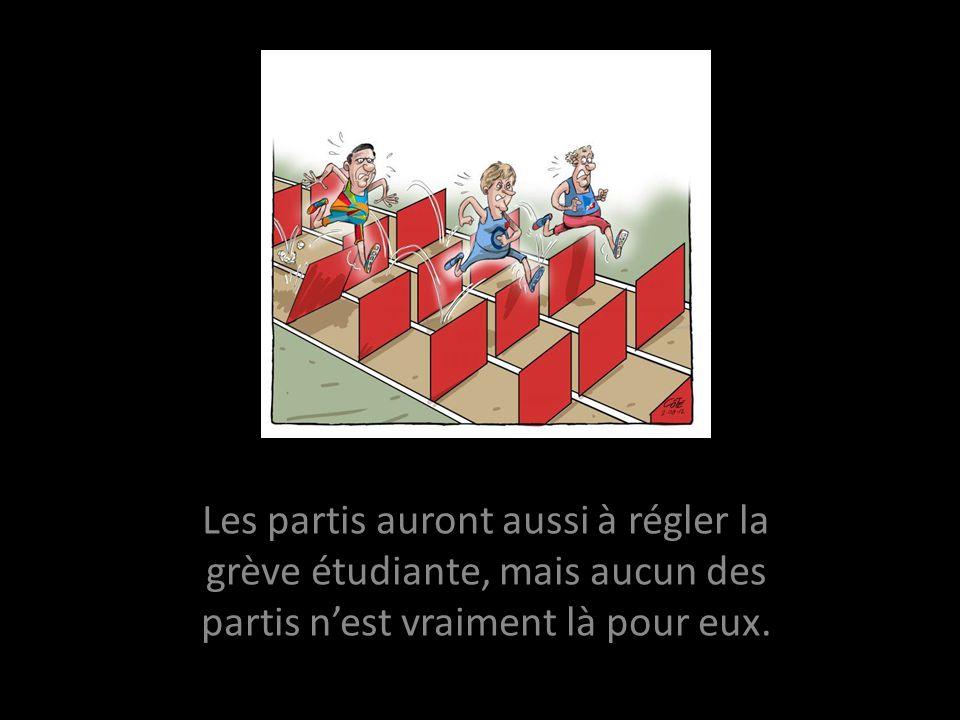 Limage décrit bien la situation du peuple québécois. Cest à vous de comprendre.