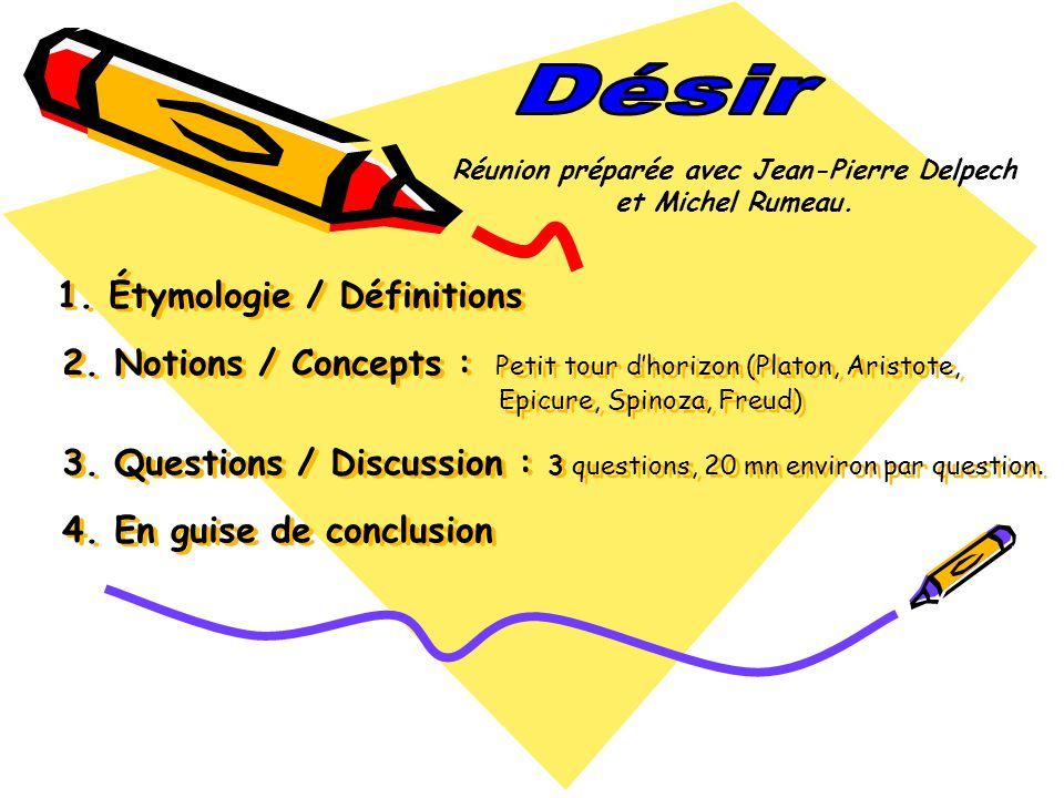 Étymologie et définitions Étymologie : Étymologie : Le verbe désirer vient du latin « desiderare ».