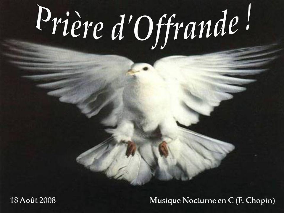 18 Août 2008 Musique Nocturne en C (F. Chopin)