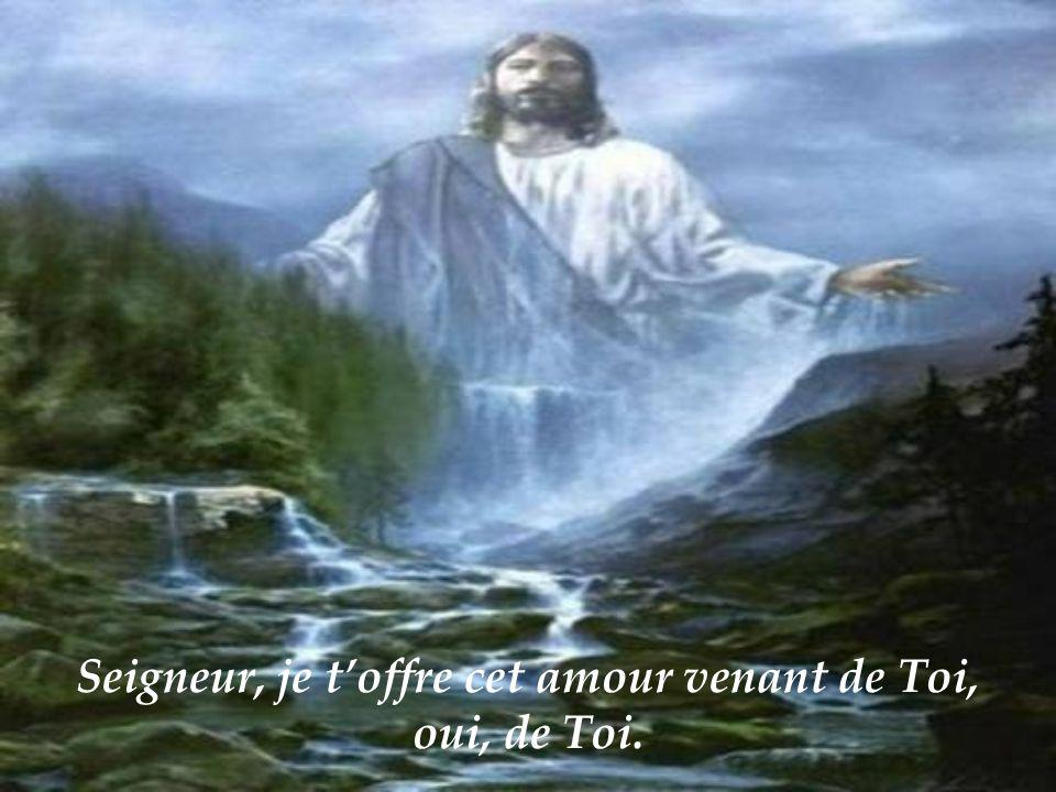Seigneur, je toffre tout lamour de mon être.