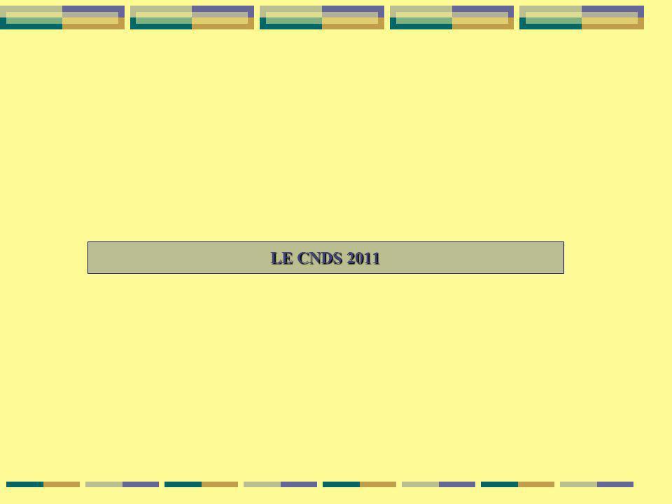 LE CNDS 2011