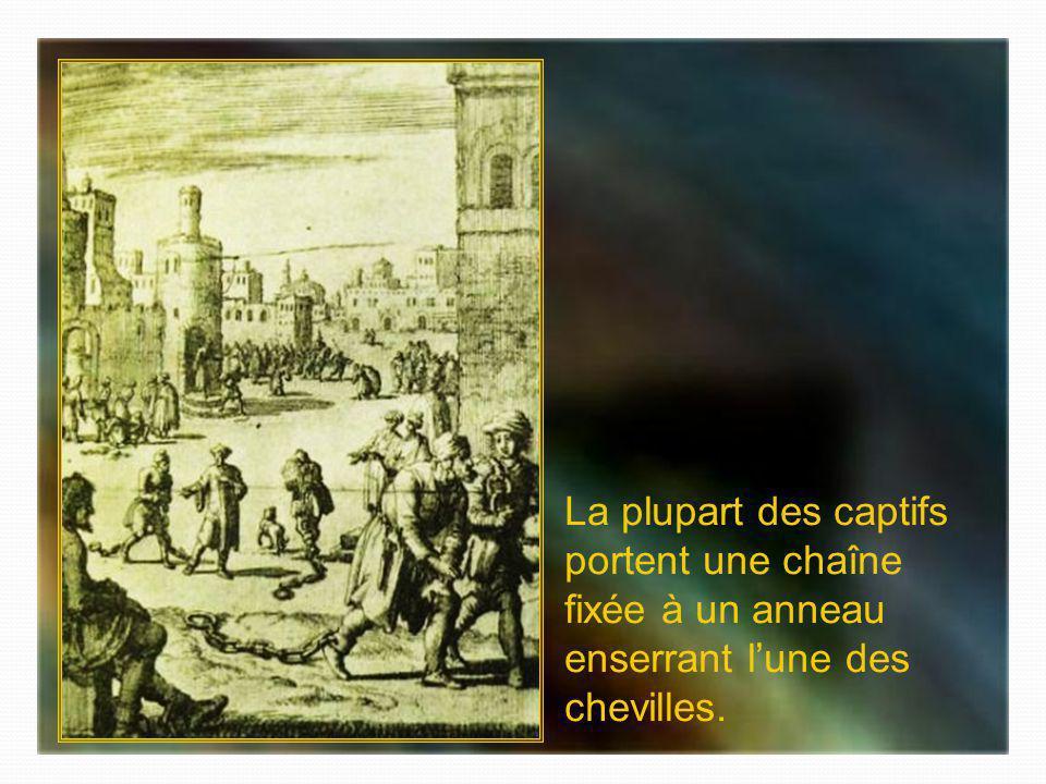 Bagne desclaves chrétiens à Alger