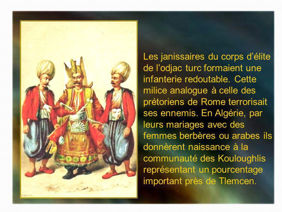 Janissaire de la Régence et spahi garde du Dey dAlger.