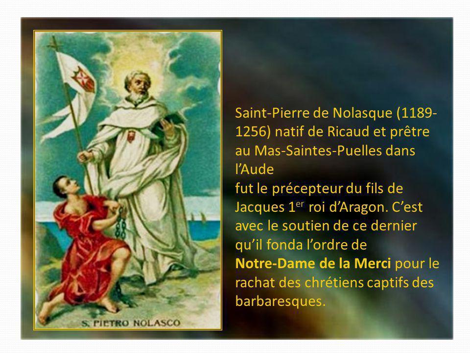 Saint Jean de Matha (1160-1213) provençal dorigine espagnole, fondateur de lOrdre de la Sainte -Trinité et de la Rédemption des captifs, racheta des d