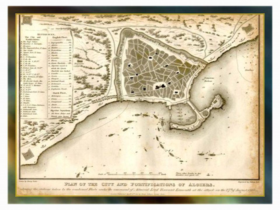En 1765, Suffren bombarde Salé au Maroc et trace les plans des côtes du Maghreb. Comme 130 Américains ont été capturés entre 1785 et 1793, la jeune ré