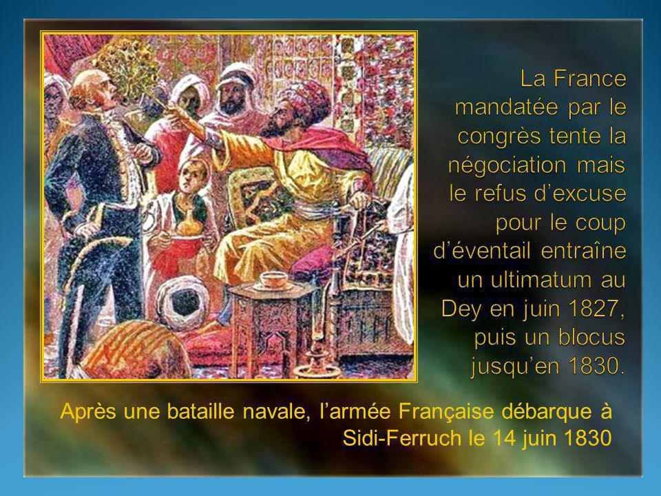 En 1816, lexpédition maritime anglo- hollandaise de Lord Exmouth arrive à faire cesser momentanément les raids. En 1818, au congrès dAix-la-Chapelle,