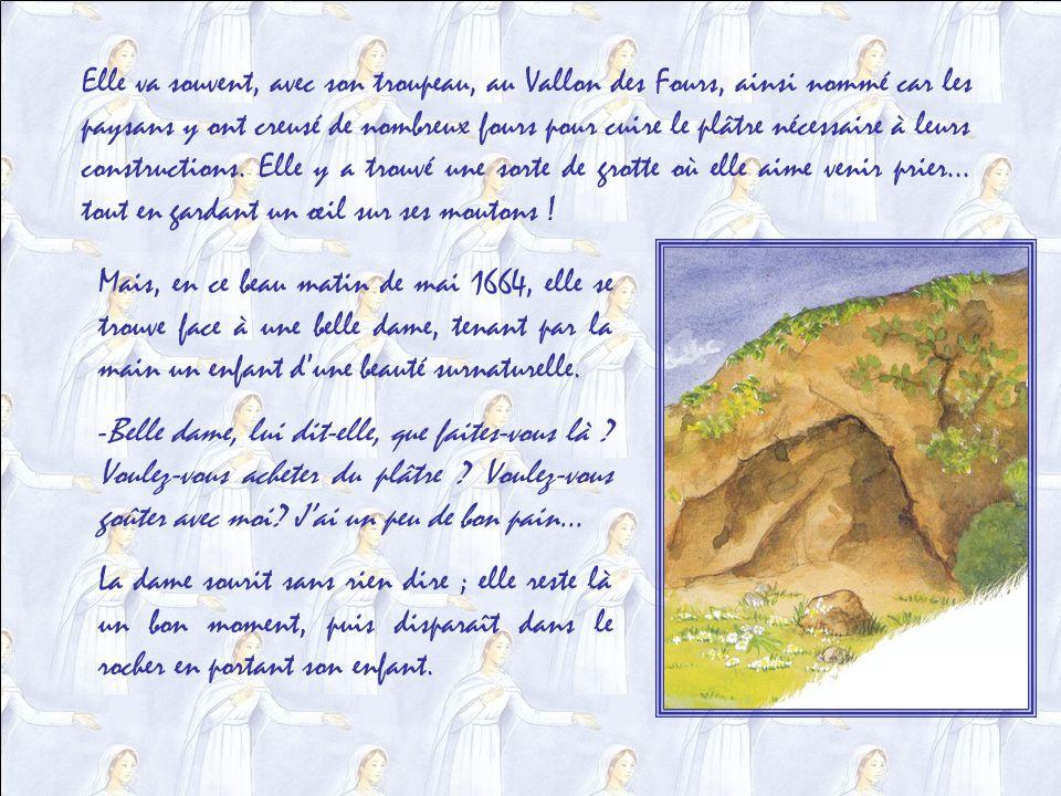 Dans un petit village français des Alpes de Haute Provence, à Saint-Étienne-de-Laus, près de Gap, Benoîte Rancurel naît en 1647. La région, plusieurs