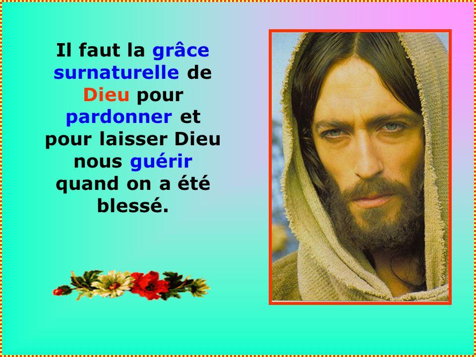 De ses peines, lhomme a appris une leçon quil ne peut plus oublier : Il faut remettre à Dieu ses souffrances, et ne jamais les enterrer !