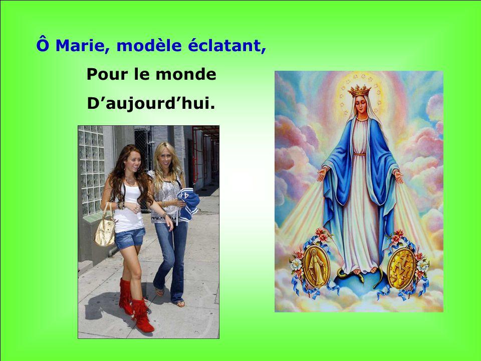 Pleine de Grâce, Nous tacclamons : AVE MARIA !