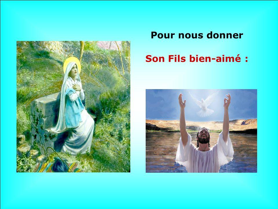 Vierge Sainte, Dieu ta choisie Depuis toute éternité.