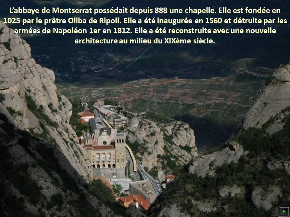 Labbaye de Montserrat possédait depuis 888 une chapelle.