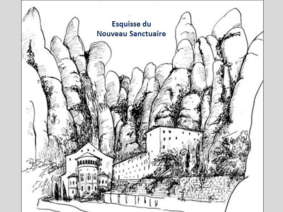 Labbaye de Montserrat possédait depuis 888 une chapelle. Elle est fondée en 1025 par le prêtre Oliba de Ripoli. Elle a été inaugurée en 1560 et détrui