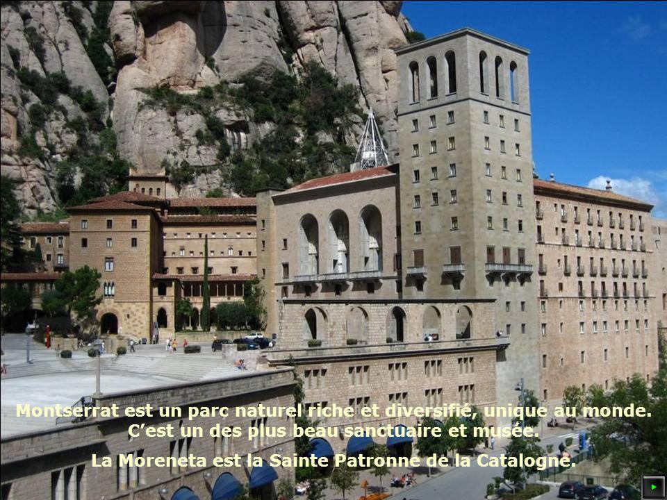 Montserrat est un parc naturel riche et diversifié, unique au monde.
