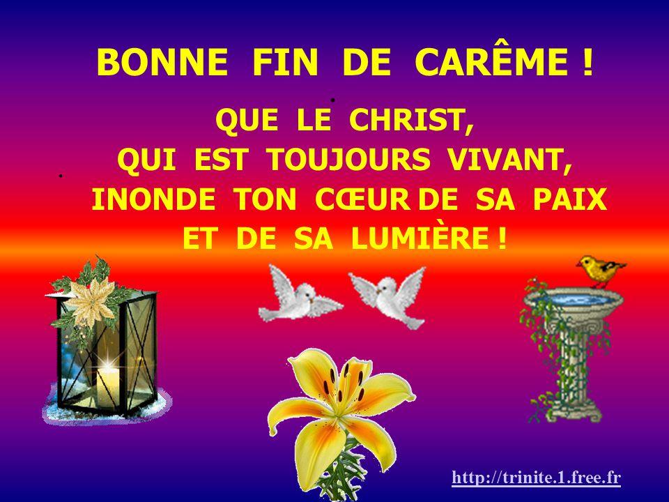 Montée vers Pâques Carême 2009 Chemin vers la Résurrection