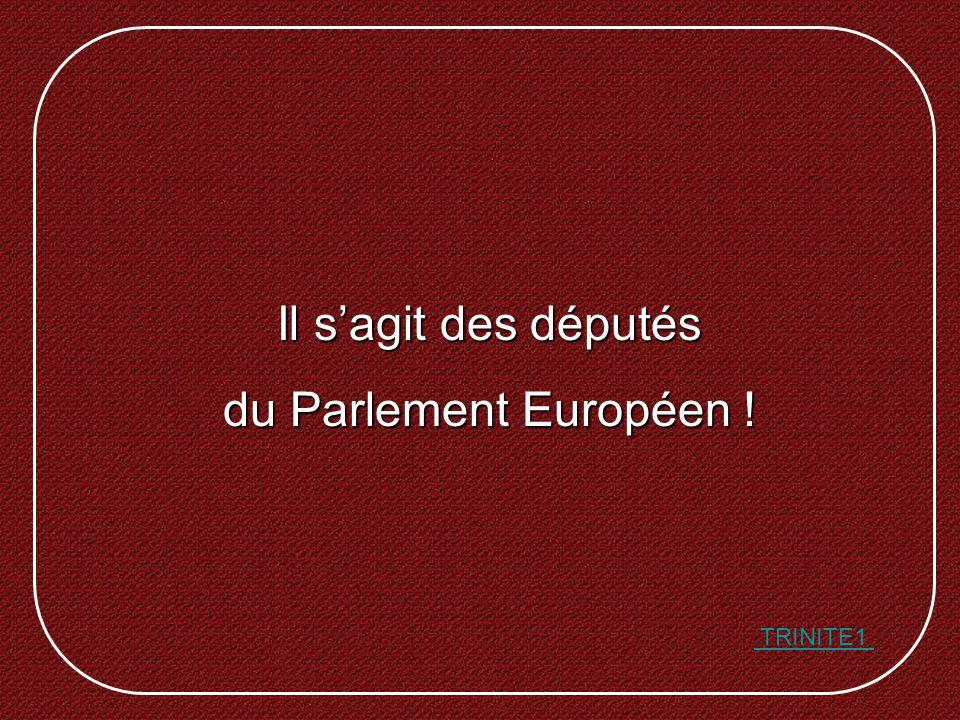 Il sagit des députés du Parlement Européen ! TRINITE1