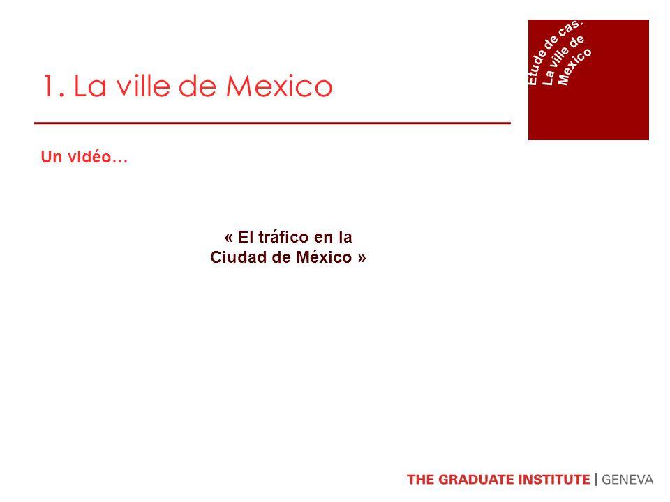 Un vidéo… « El tráfico en la Ciudad de México »