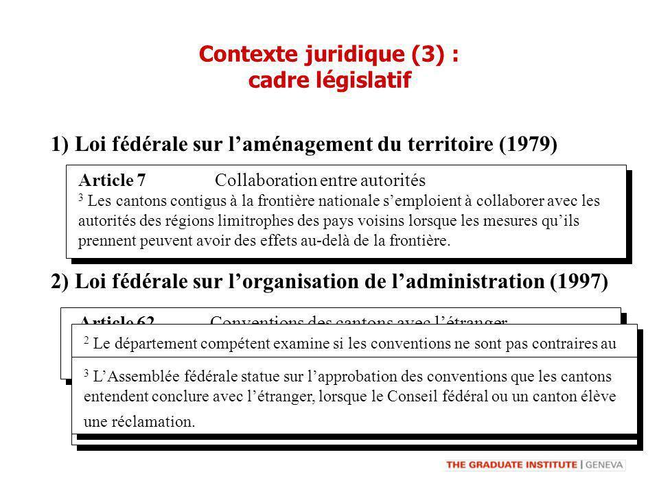 Article 7 Collaboration entre autorités 3 Les cantons contigus à la frontière nationale semploient à collaborer avec les autorités des régions limitro