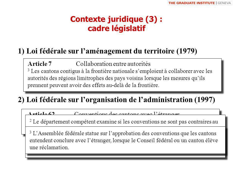 Article 7 Collaboration entre autorités 3 Les cantons contigus à la frontière nationale semploient à collaborer avec les autorités des régions limitrophes des pays voisins lorsque les mesures quils prennent peuvent avoir des effets au-delà de la frontière.