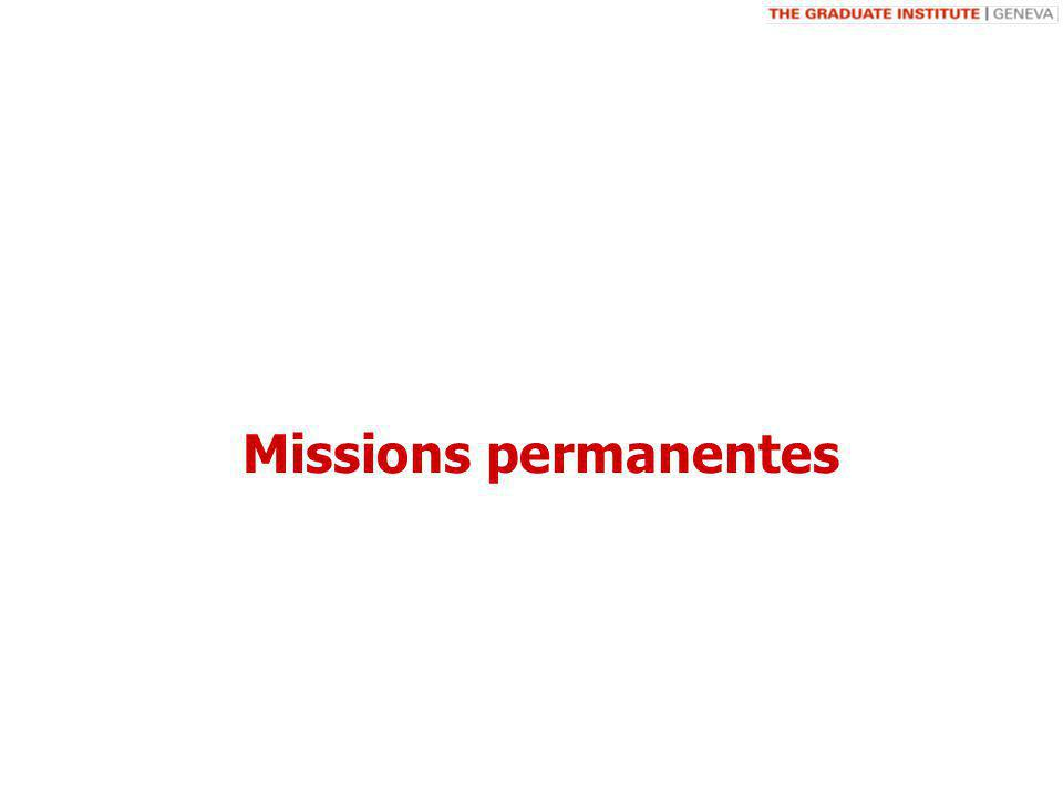 Missions permanentes