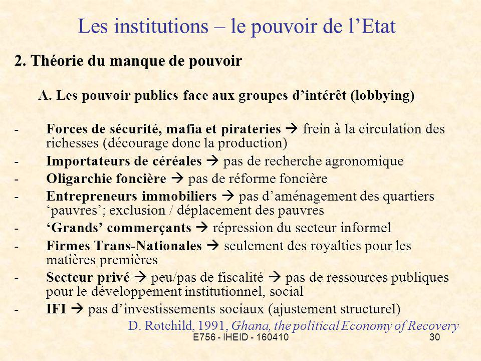 E756 - IHEID - 16041030 Les institutions – le pouvoir de lEtat 2.