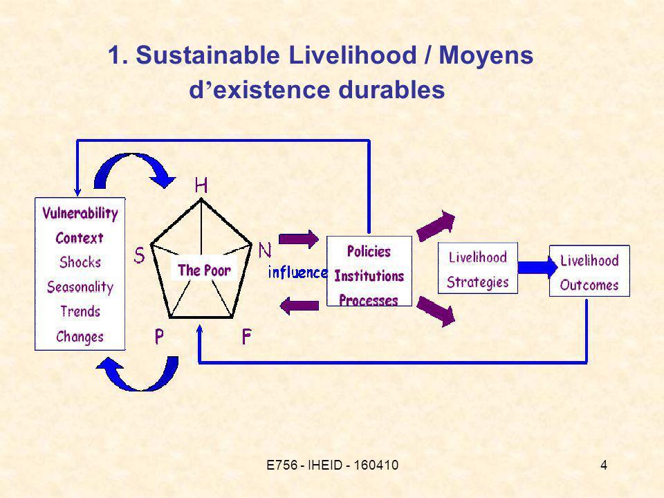 E756 - IHEID - 1604105 Sustainable livelihood - cadre d analyse 1.