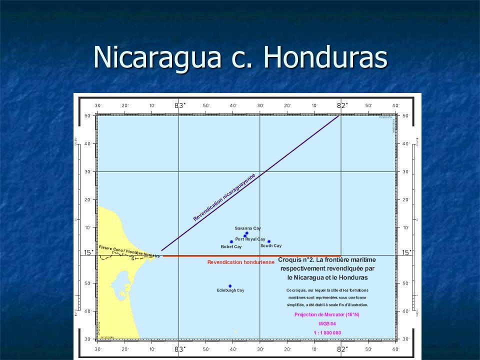 Nicaragua c. Honduras