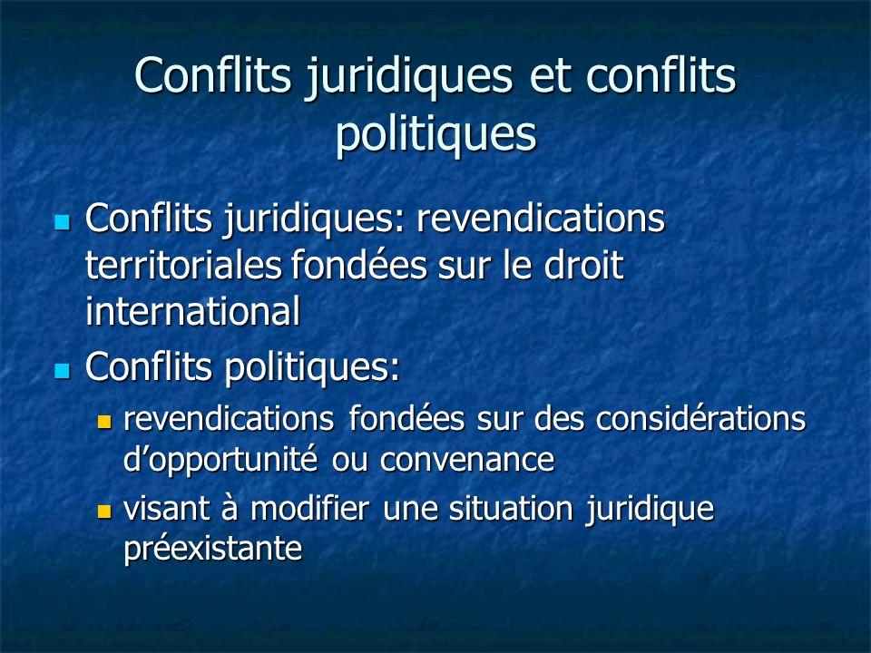 8.Territoires soumis à l administration d un autre Etat 2.1.