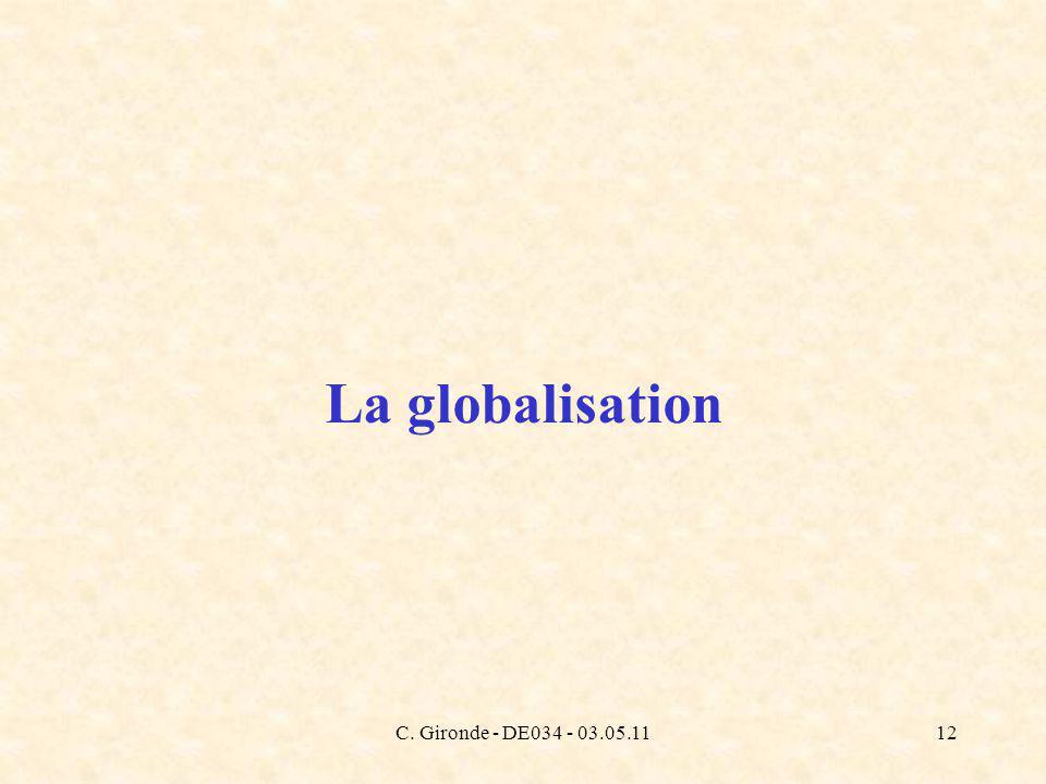 C. Gironde - DE034 - 03.05.1112 La globalisation