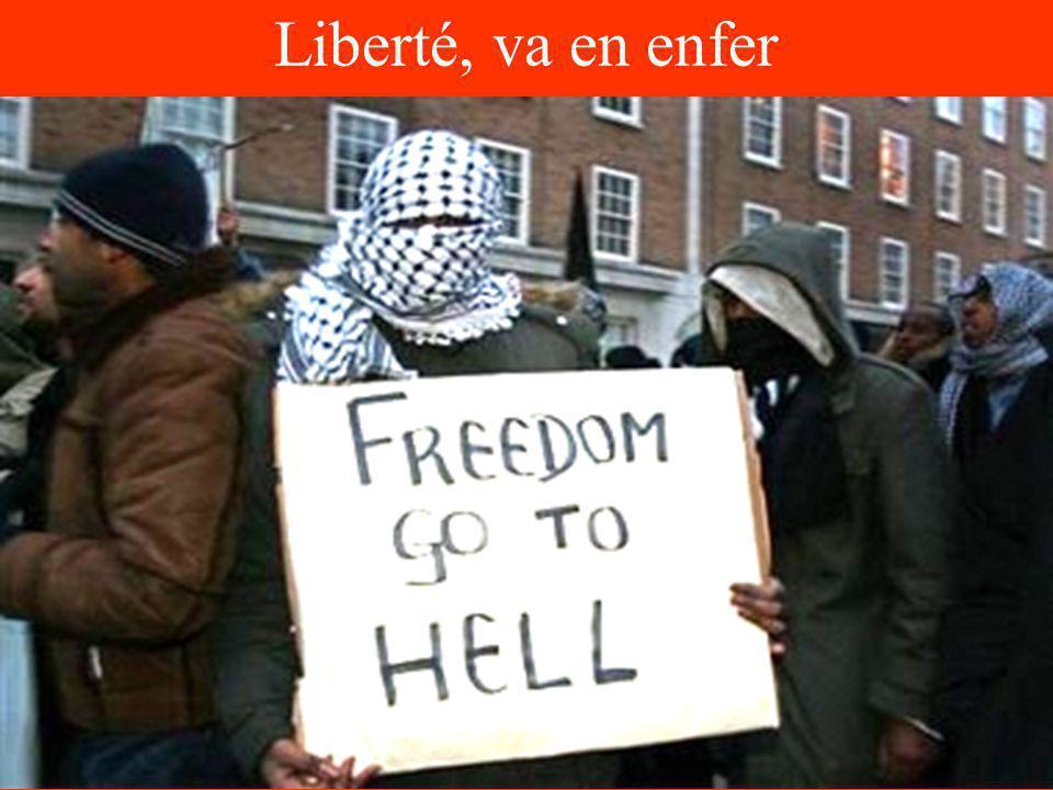 Liberté, va en enfer