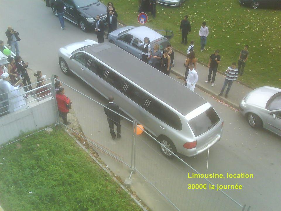 Limousine, location 3000 la journée