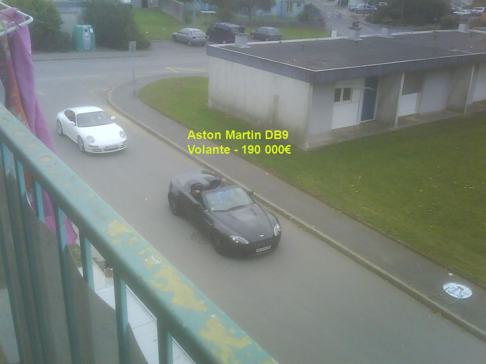 Aston Martin DB9 Volante - 190 000