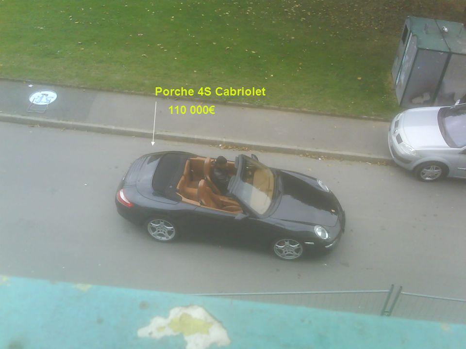 Porche 4S Cabriolet 110 000